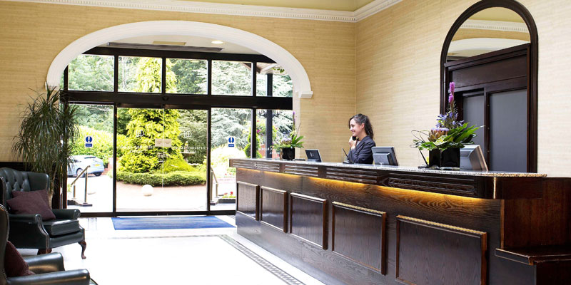 chesford grange hotel reception