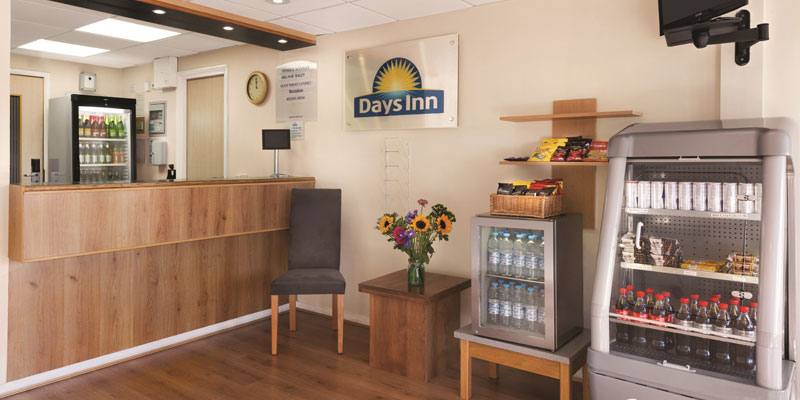 days inn warwick south reception
