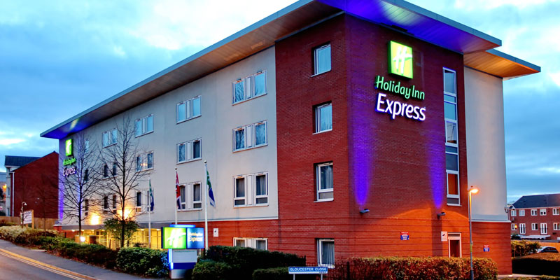 holiday inn express redditch exterior