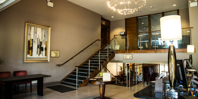 mecure walton hall hotel and spa reception