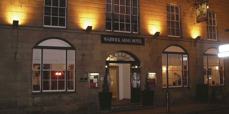 warwick arms hotel exterior